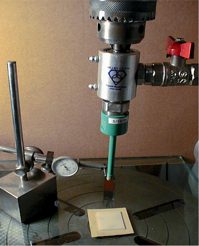 How To Use A Diamond Drill Bit